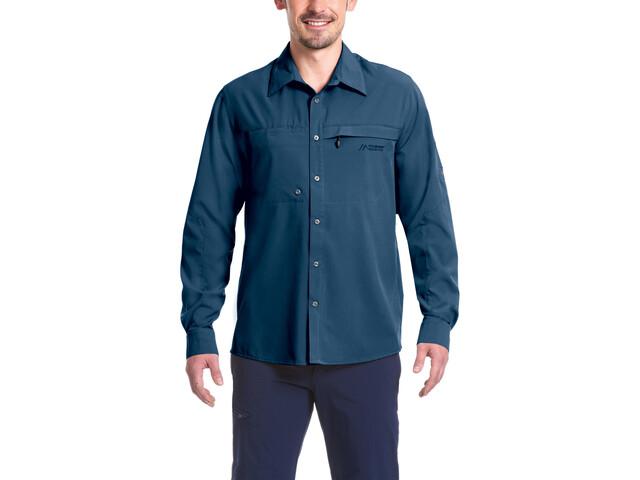 Maier Sports Peregrin LS Shirt Herren aviator
